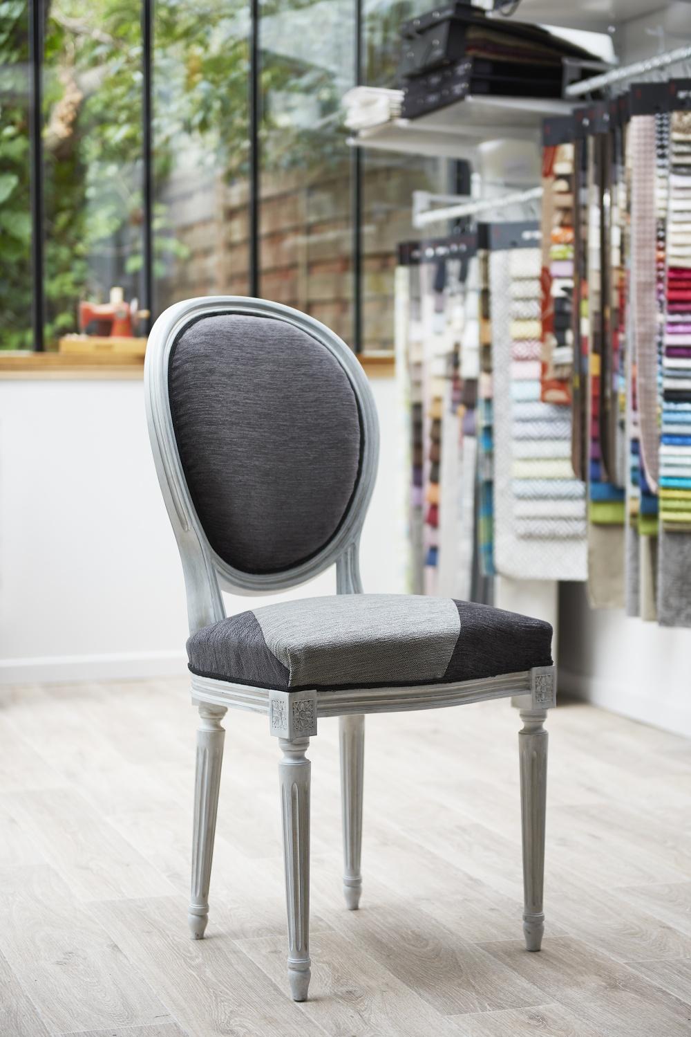 Chaise m daillon louis xvi atelier tapissier la kabana nanou - Chaise style louis xvi moderne ...