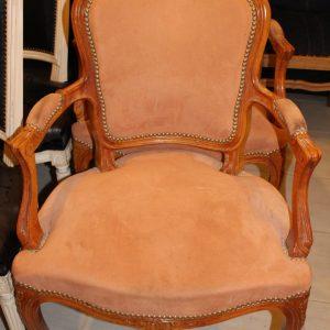 fauteuils ensemble louis XV